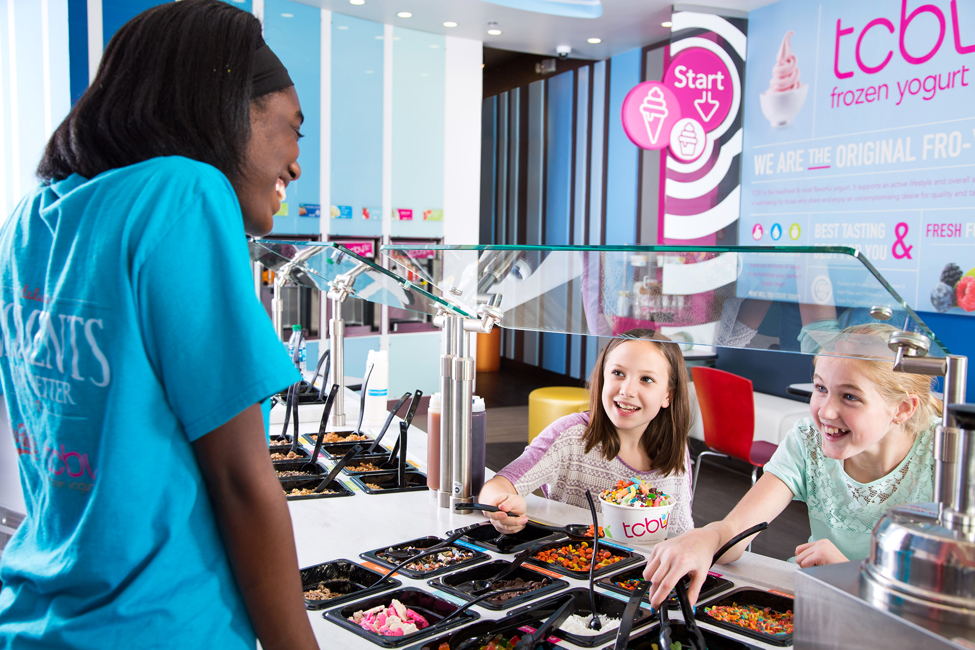 Explore different tcby store designs tcby franchising treat menu that includes the creamy soft serve deliciously thick hand scooped sundaes shakes and other nostalgic soda shop options that bring the publicscrutiny Choice Image