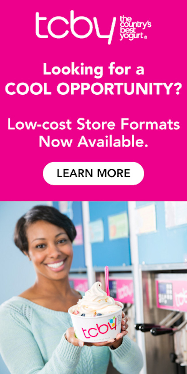 Looking for a cool opportunity? Low-cost store formats now available.  Learn more