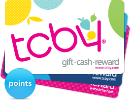 tcby points and rewards